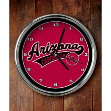 NFL Chrome Clock