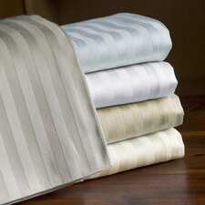 800 Thread Count Egyptian Cotton Sateen Stripe Sheet Set