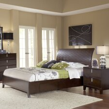 Legend Wood Storage Panel Bed