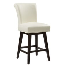 Hamlet Swivel Bonded Leather Stool