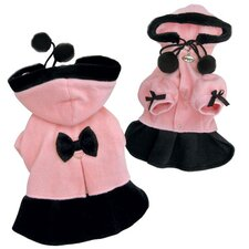 Adorable Soft Fleece Princess Dog Dress