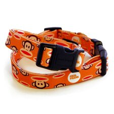 Paul Frank Signature Julius Orange Dog Collar