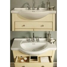 "Windsor 34"" Narrow Depth Bathroom Vanity Base"
