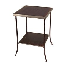 Tapered Leg Metal End Table