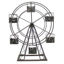 Ferris Wheel Metal Candle holder
