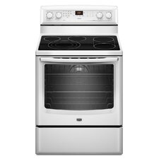 6.2 cu. ft. EvenAir True Convection and a Bridge Element Electric Range