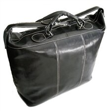 "Piana 18"" Leather Travel Duffel"