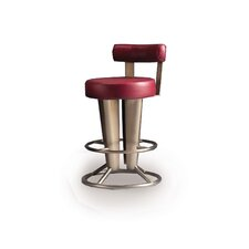 "Saturne 24"" Barstool with Backrest"
