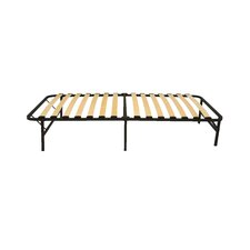 Wooden Slat Simple Base Bed Frame