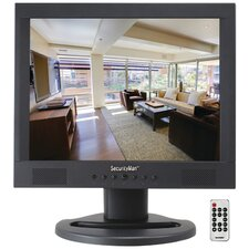 "Professional 15"" LCD CCTV Color Monitor with Speaker"