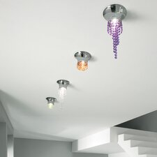 Kioccia 1 Light Small Flush Mount