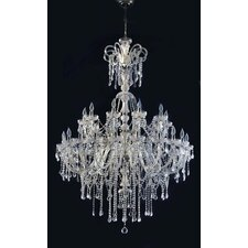 Hollywood 30 Light Crystal Chandelier