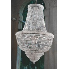 Osaka Empire 15 Light Crystal Chandelier