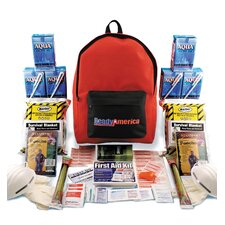 Grab N' Go Emergency Backpack Kit, 2 Person