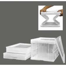 17.5 Quart Collapsible Crate (4 Pack)