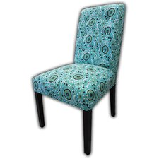 Kacey Suzani Cotton Parson Chair (Set of 2)
