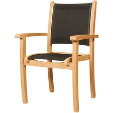 Stacking Armchair with Textilene