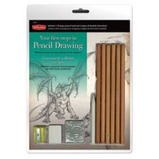 Your First Steps in Pencil Drawing Kit