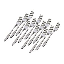 Alpha Salad Forks (Set of 12)