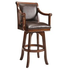 "Palm Springs 30"" Barstool in Cherry"