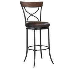 Cameron X-Back Barstool in Chestnut