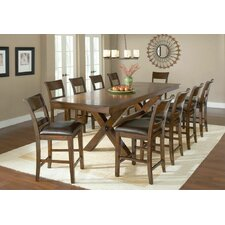 Park Avenue 11 Piece Counter Height Dining Set