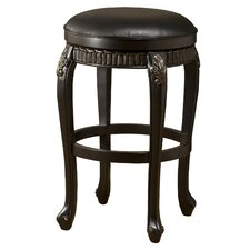 Fleur De Lis Backless Swivel Stool