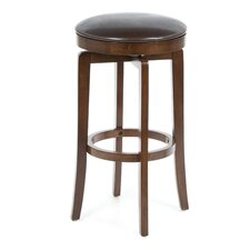 O'Shea Backless Bar Stool in Brown Cherry