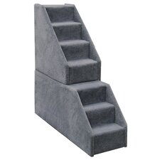 Bear's Stairs™ Seven-Step Mini Carpeted Pet Stairs