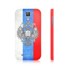 Russian Flag Snap-on Samsung Galaxy S4 Case