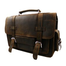 Leather Overnight Travel Duffel