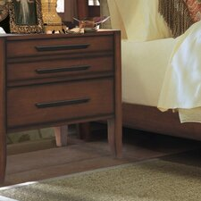 Dusk 3 Drawer Nightstand