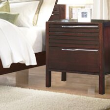Florida 2 Drawer Nightstand