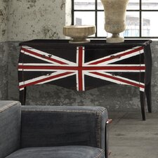 Union Jack Large 2 Drawer Cabinet
