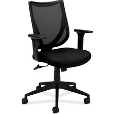 Midback Mesh Back Chair with Arms