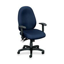 Mid-Back High Performance Task Chair with Adjustable Arms