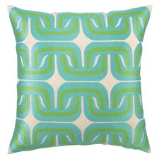 Geo Links Linen Pillow