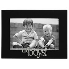 Expressions The Boys! Picture Frame