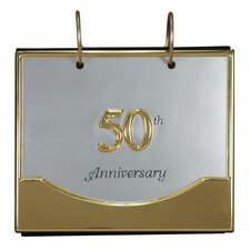 50th Anniversary Flip Ring Album