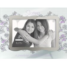 Ornate Sisters Glass Picture Frame