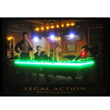 Legal Action Neon LED Poster Sign