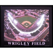 Wrigley Field Neon LED Poster Sign