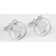 Cancer Survivor Sterling Silver Cuff Links by CaSu Design