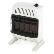 Vent Free 10,000 BTU Radiant Utility Natural Gas Space Heater
