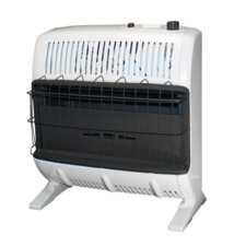 Vent Free 30,000 BTU Radiant Wall/Floor Propane Space Heater