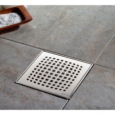 "6"" Pixel Bathroom Shower Drain"