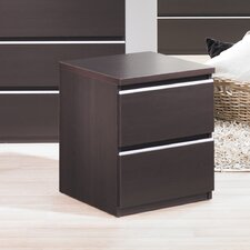 Tucson Bedroom 2 Drawer Nightstand