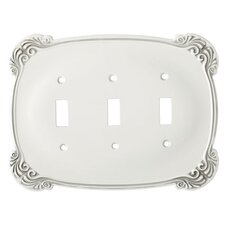 Arboresque Triple Switch Wall Plate