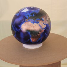 Marble Globe with Negative Ions (Set of 2)