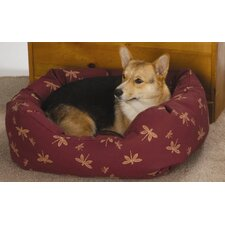 Towne Square Dog Bed in Twill